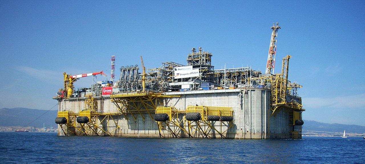 Adriatic LNG OG Olje og gass landanlegg
