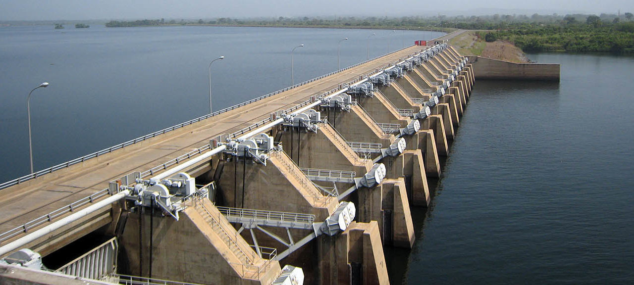 Multiconsult Energi vannkraft Akosombo and Kpong Akosombo Dam Kpong gates