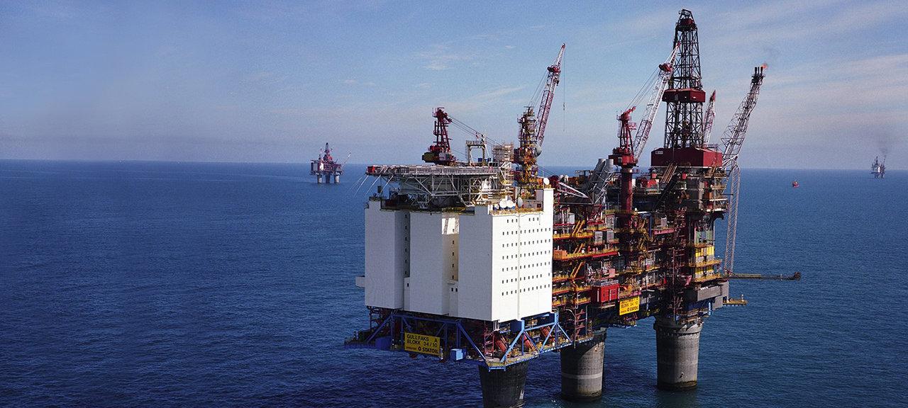 Gullfaks oljeplattform offshore Olje og gass