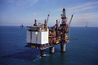 Gullfaks olje og gass offshore