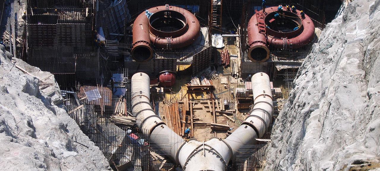 A Voung vannkraftverk Vietnam Norplan vannkraft internasjonalt