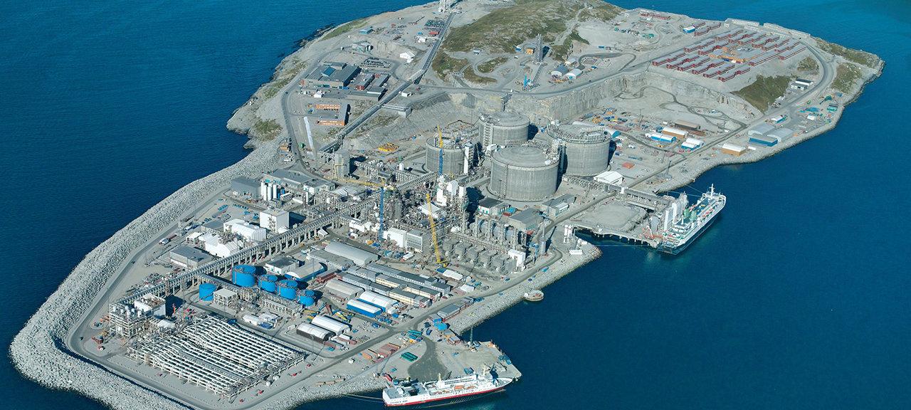 Snøhvit, melkeøya, hammerfest, LNG plant, multiconsult