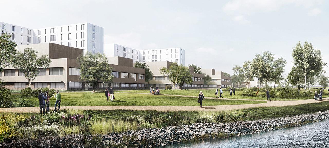 New hospital in Drammen